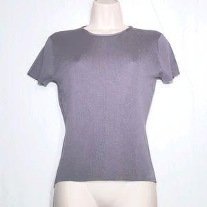 J. Crew | 100% Silk Knit Top Size M